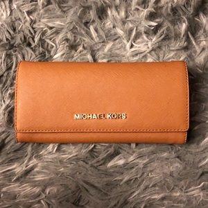 Authentic MK long wallet EUC